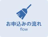 東京都港区麻布十番のハウスクリーニングのお申し込みの流れ