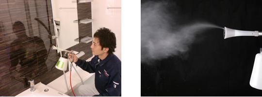 エアーコーティング噴霧